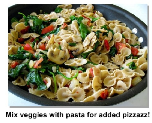 in pasta